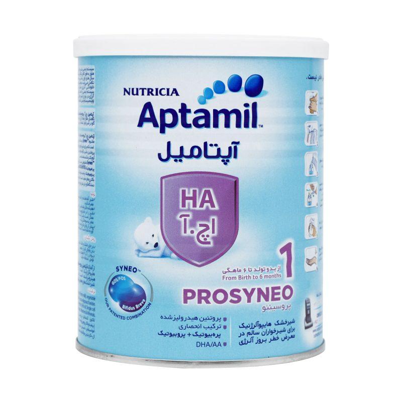 شیر خشک آپتامیل اچ آ 1 نوتریشیا 400 گرم