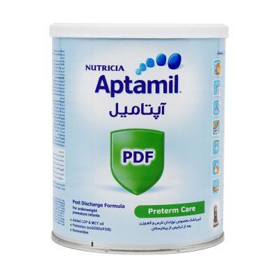 شیر خشک آپتامیل پی دی اف نوتریشیا | ۴۰۰ گرم |مخصوص کودکان نارس