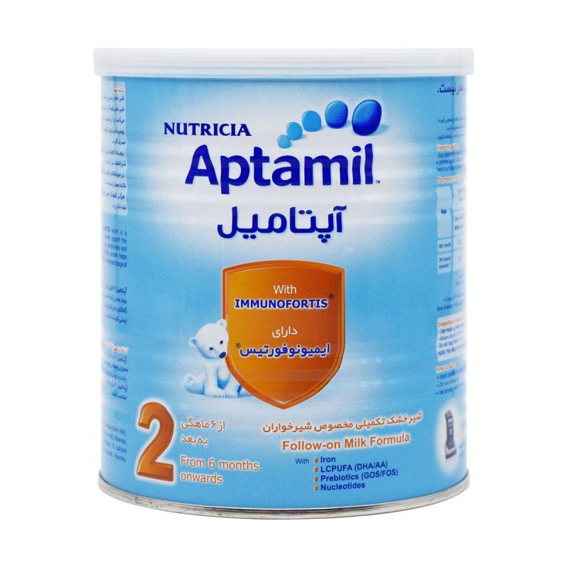 شیر خشک آپتامیل 2 نوتریشیا 400 گرم
