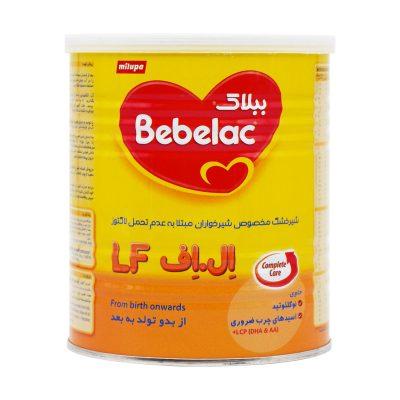 شیر خشک ببلاک ال اف میلوپا | ۴۰۰ گرم | مخصوص نوزادان حساس به لاکتوز