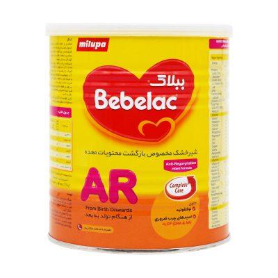 شیر خشک ببلاک ای آر میلوپا | ۴۰۰ گرم | آنتی رفلاکس