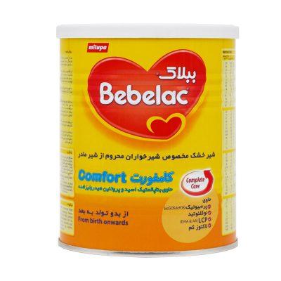 شیر خشک ببلاک کامفورت میلوپا | ۴۰۰ گرم | مناسب نوزادان از بدو تولد