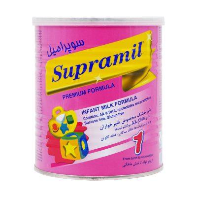 شیر خشک سوپرامیل ۱ فاسکا | ۴۰۰ گرم | مناسب از بدو تولد تا ۶ ماهگی