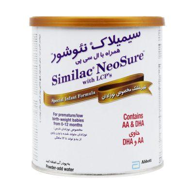 شیر خشک سیمیلاک نئوشور ابوت | ۳۷۰ گرم | مخصوص نوزادان نارس
