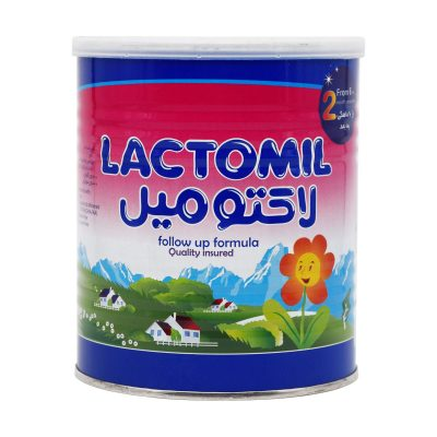 شیر خشک لاکتومیل ۲ | ۴۰۰ گرم | ۶ ماهگی به بعد