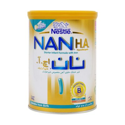 شیر خشک نان اچ آ ۱ نستله | ۴۰۰ گرم | هایپو آلرژی