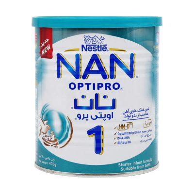 شیر خشک نان ۱ نستله | ۴۰۰ گرم | از بدو تولد تا ۶ ماهگی