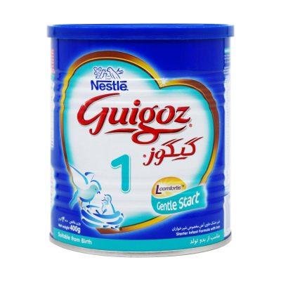 شیر خشک گیگوز ۱ نستله | ۴۰۰ گرم | از بدو تولد تا ۶ ماهگی