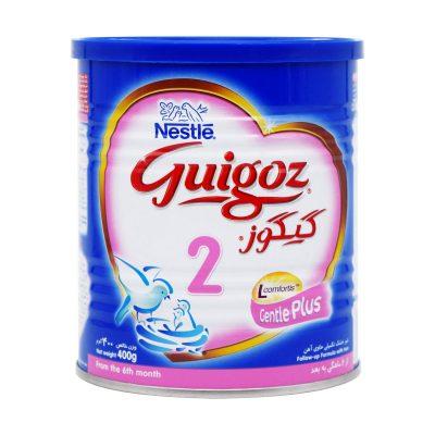 شیر خشک گیگوز ۲ نستله | ۴۰۰ گرم | مناسب شیرخواران ۶ تا ۱۲ ماه