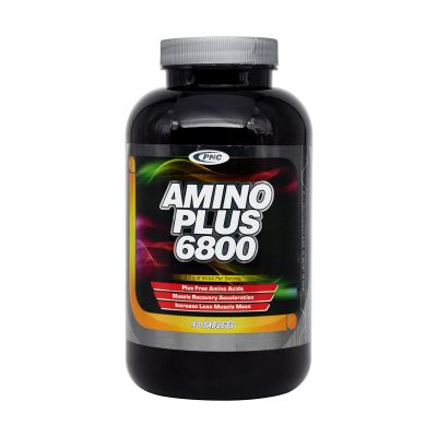 قرص آمینو پلاس ۶۸۰۰ پی ان سی | ۹۰ عدد |افزایش دهنده توده عضلانی