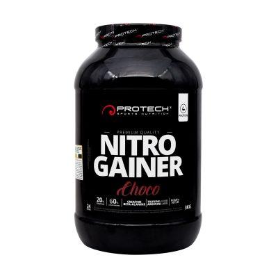 پودر نیترو گینر پروتک | ۳۰۰۰ گرم |افزایش دهنده توده عضلانی