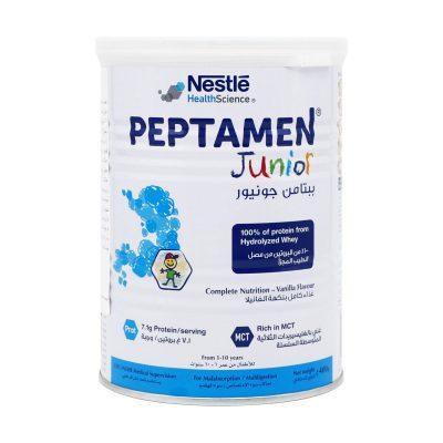 پودر پپتامن جونیور نستله هلث ساینس | ۴۰۰ گرم | کودکان ۱ تا ۱۰ سال