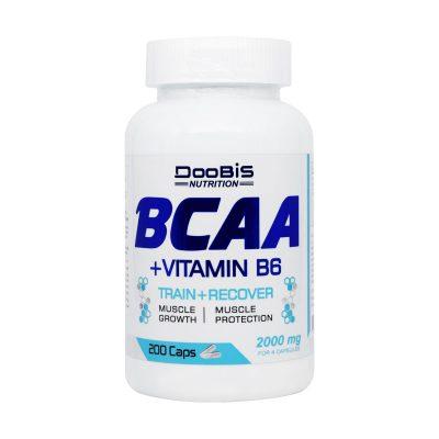 کپسول بی سی ای ای و ویتامین B6 دوبیس | ۲۰۰ عدد |عضله سازی و رفع خستگی عضلات