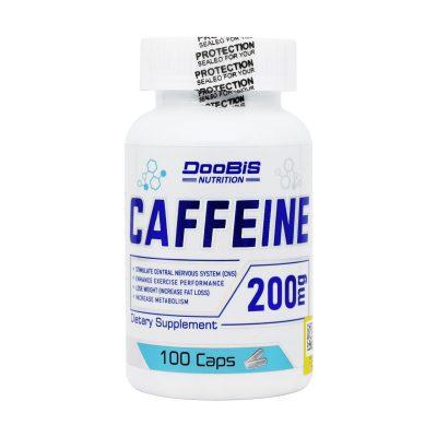 کپسول کافئین ۲۰۰ میلی گرم دوبیس   ۱۰۰ عدد   کمک به چربی سوزی و افزایش سطح هشیاری