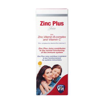 شربت زینک پلاس استار ویت | ۲۰۰ میلی لیتر | کمک به رشد و تقویت سیستم ایمنی