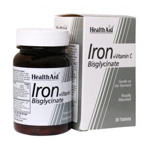 جزئیات پیوست Health-Aid-Iron-Bisglycinate