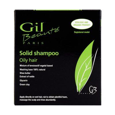 شامپو جامد مناسب موی چرب ژیل بوته | ۱۰۰ گرم |ترکیبات گیاهی و فاقد پارابن