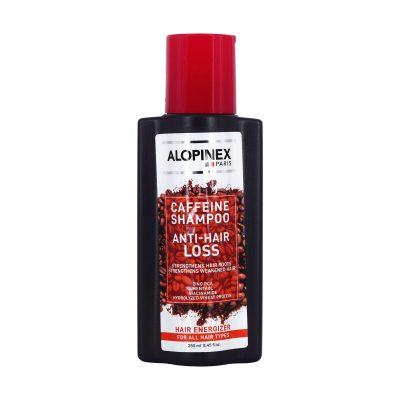 شامپو کافئین ضد ریزش روزانه مناسب انواع مو آلوپینکس | ۲۵۰ میلی لیتر |