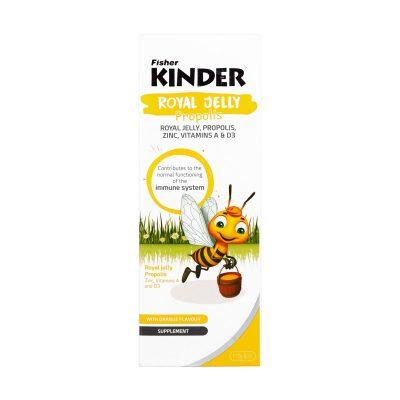 شربت رویال ژلی فیشر کیندر | ۱۵۰ میلی لیتر |غنیترین مادهی مغذی برای کودکان
