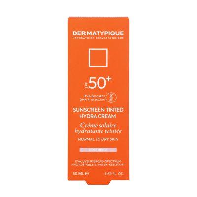 ضد آفتاب رنگی هیدرا رز بژ مناسب پوست خشک +SPF50 درماتیپیک | ۵۰ میلی لیتر
