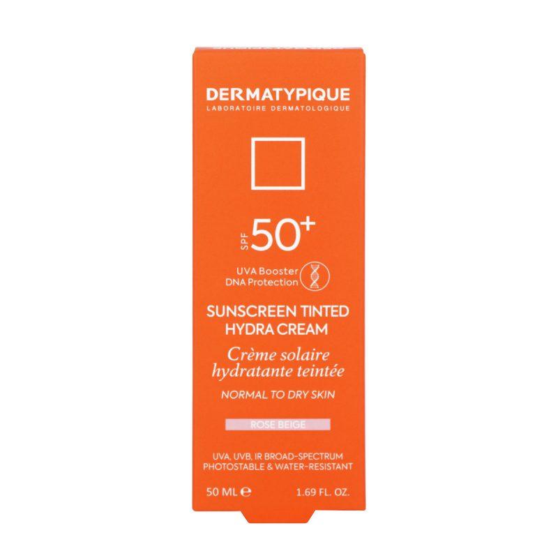 ضد آفتاب رنگی هیدرا رز بژ مناسب پوست خشک +SPF50 درماتیپیک 50 میلی لیتر