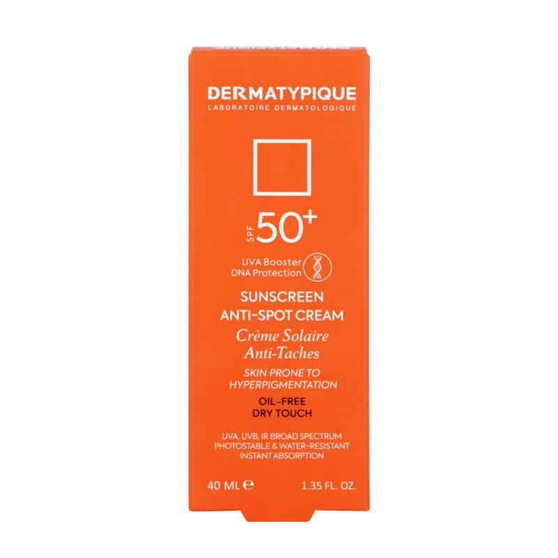 ضد آفتاب روشن کننده و ضد لک +SPF50 درماتیپیک 40 میلی لیتر
