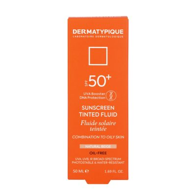 ضد آفتاب فلویید بژ طبیعی پوست مختلط و چرب +SPF50 درماتیپیک | ۵۰ میلی لیتر