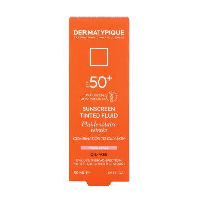 ضد آفتاب فلویید رز بژ پوست مختلط و چرب +SPF50 درماتیپیک | ۵۰ میلی لیتر