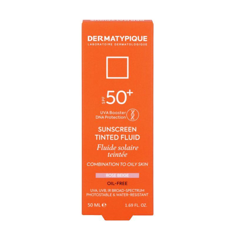 ضد آفتاب فلویید رز بژ پوست مختلط و چرب +SPF50 درماتیپیک 50 میلی لیتر
