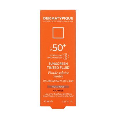 ضد آفتاب فلویید گلد بژ پوست مختلط و چرب +SPF50 درماتیپیک | ۵۰ میلی لیتر