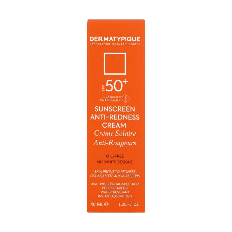 ضد آفتاب مناسب پوست قرمز و حساس +SPF50 درماتیپیک 40 میلی لیتر