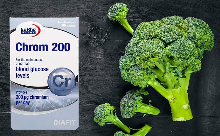 مکمل کروم 200 میکروگرم یوروویتال