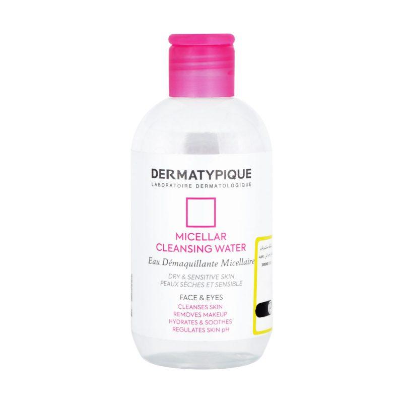 میسلار پاک کننده آرایش پوست های خشک و حساس درماتیپیک 250 میلی لیتر