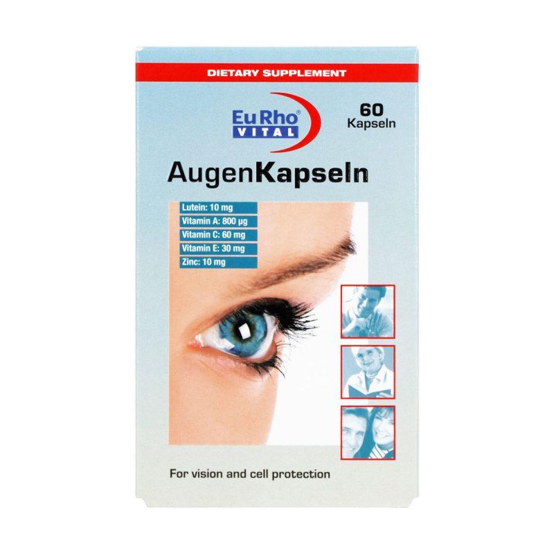 کپسول اوژن یورو ویتال 60 عدد بهبود بینایی