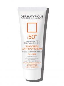 ضد آفتاب روشن کننده و ضد لک +SPF50 درماتیپیک