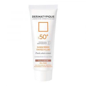 ضد آفتاب فلویید گلد بژ پوست مختلط و چرب +SPF50 درماتیپیک