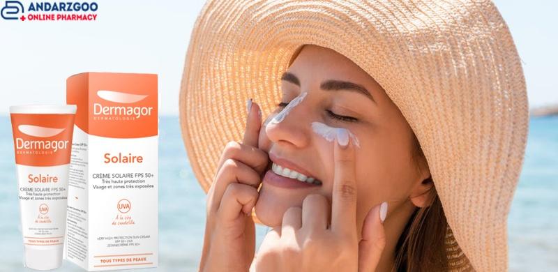 کرم ضد آفتاب درماگور
