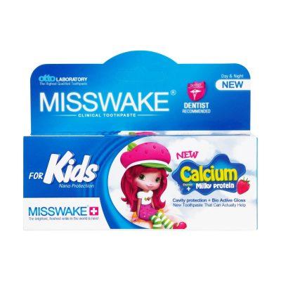خمیر دندان کودک با طعم توت فرنگی میسویک | ۵۰ میلی لیتر |شوینده دندان