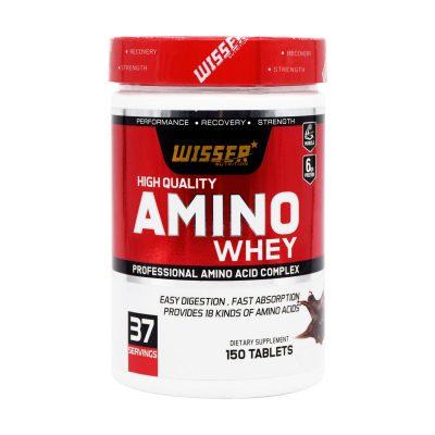قرص آمینو وی ویثر   ۱۵۰ عددقرص   کمک به افزایش حجم عضلات