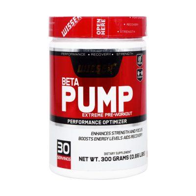 پودر بتا پمپ ویثر   ۳۰۰ گرم  پمپاژ خون بهتر به بافت عضلانی