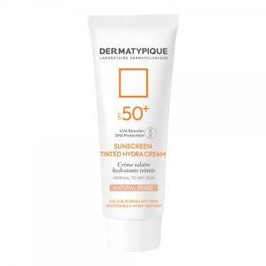 ضد آفتاب رنگی هیدرا بژ طبیعی مناسب پوست خشک +SPF50 درماتیپیک