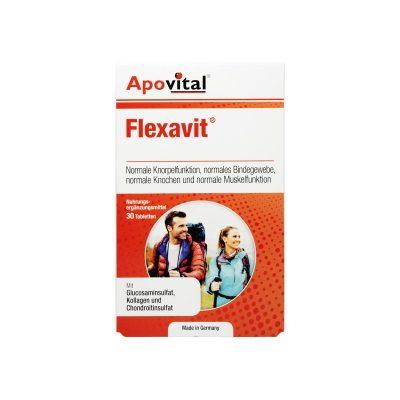 قرص-فلکساویت-آپوویتال-30-عدد-حفظ-سلامت-و-کاهش-درد-و-التهاب-مفاصل-و-غضروف-ها